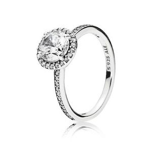 RING Sterling silver, Cubic Zirconia